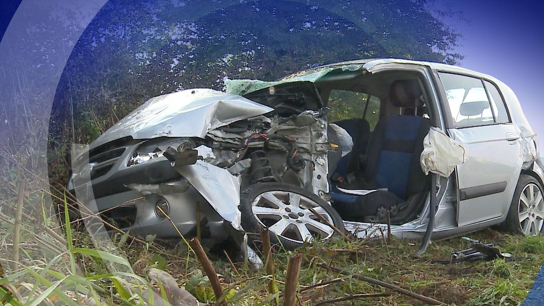 Unfall Schnottwil