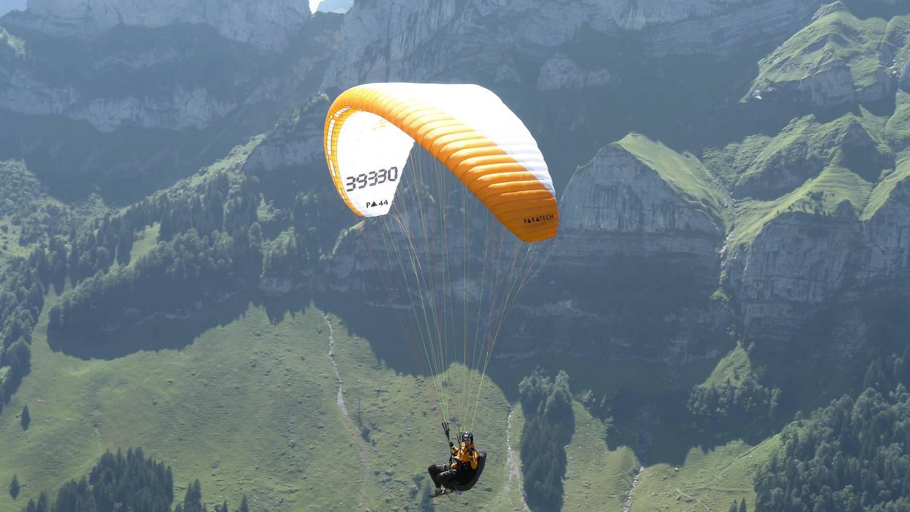 Kurz vor der Landung stürzte der brevetierte Pilot auf die Wiese. (Symbolbild)