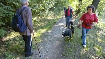 In Wildruhegebieten im Baselbiet soll zudem für Hunde künftige die Leinenpflicht gelten