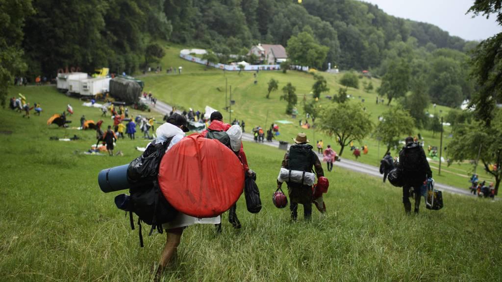 Polizei mahnt: Partys und Campieren im Sittertobel verboten