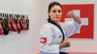 Maria Gilgen fliegt heute an die EM in Rhodos. Dass sie mit Taekwondo angefangen hat, verdankt sie ihrem Sohn.