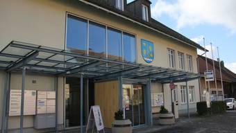Das Gemeindehaus Schinznach im Ortsteil Schinznach-Dorf.