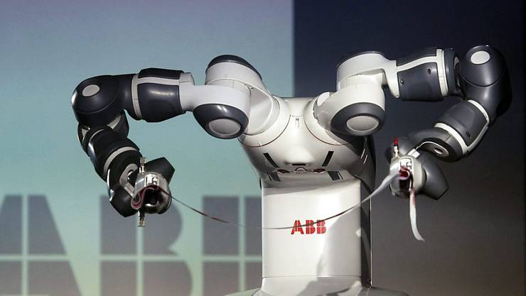 Kann ein Orchester dirigieren, aber nicht improvisieren: Roboter Yumi des Schweizer Konzerns ABB.