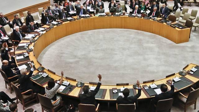 Diesmal liefs rund im UNO-Sicherheitsrat: Syrien-Resolution einstimmig verabschiedet (Archiv)