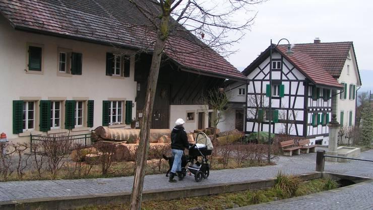 Killwangen ist zwar kein Bauerndorf mehr, weist aber nach wie vor nostalgische Dorfpartien auf. Foto: NN