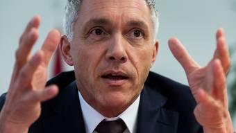 """""""Man kann nie alles überwachen und wissen"""", sagt Bundesanwalt Michael Lauber. (Archiv)"""