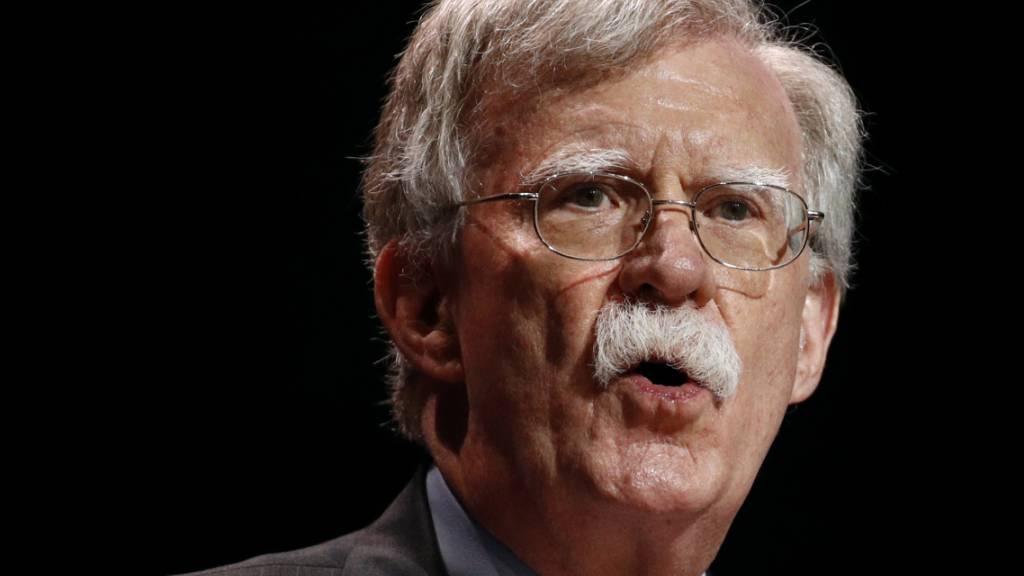Bolton: Trump wollte Nato mit Austritt drohen