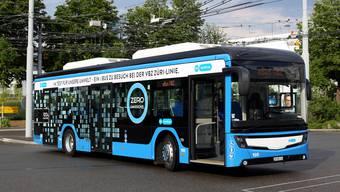 Die städtischen Fördergelder sollen die Differenz in der Beschaffung und im Betrieb von Elektro- und Dieselfahrzeugen ausgleichen und den Entscheid für Elektrobusse erleichtern. (Archiv)