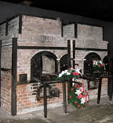 Die beiden Öfen des Krematoriums.