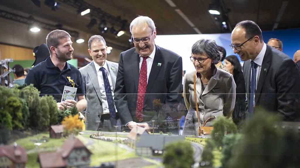 Olma mit rund 220'000 Besucherinnen und Besuchern