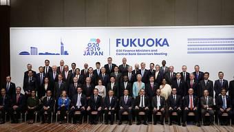 Die G20-Finanzminister haben am Sonntag bei ihrem Treffen im japanischen Fukuoka eine deutliche Verstärkung ihrer Anstrengungen für die Einführung einer globalen Digitalsteuer angekündigt.