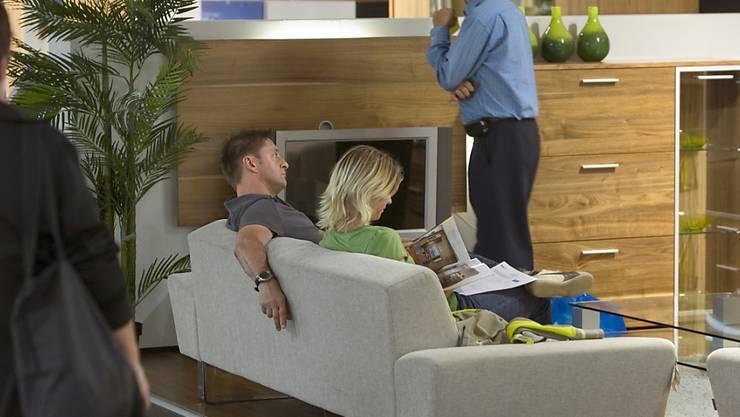 Die Möbelhändler in der Schweiz konnten sich im Letzten Jahr halten - für die Marktforscher von GfK ein Erfolg. (Symbolbild)