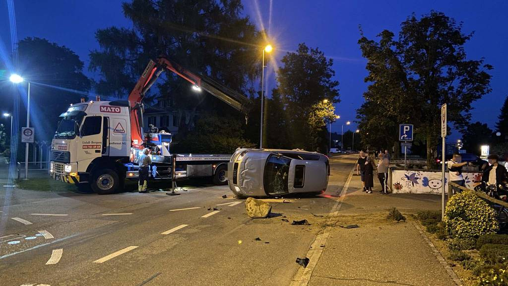 Selbstunfall: Neulenker fährt Audi zu Schrott