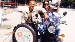 Diese beiden Abenteurer aus Baden fuhren mit ihrem Töff nach Indien