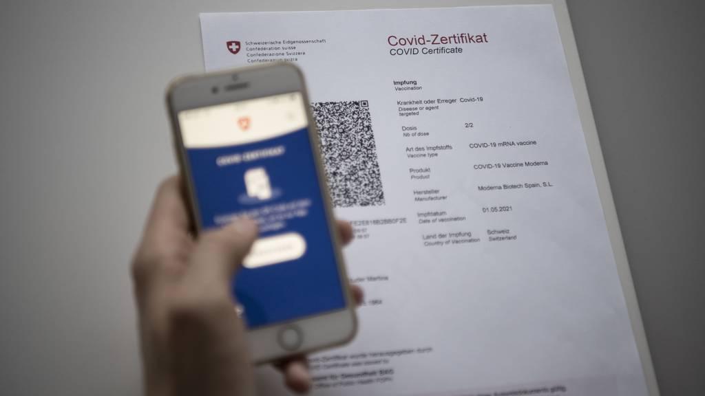 PH Bern verlangt Zertifikat