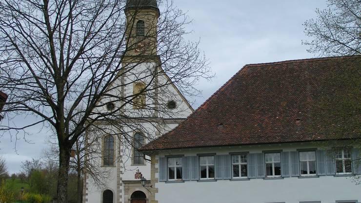 Das Stift Olsberg, ein ehemaliges Zisterzienserinnenkloster. Das Kloster wurde 1236 gegründet und wird heute als Kulturgut von nationaler Bedeutung eingestuft.