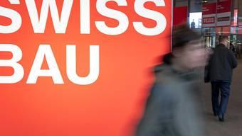 Die Fachmesse Swissbau findet bis am, Samstag in Basel statt. Erwartet werden 100'000 Besucherinnen und Besucher.