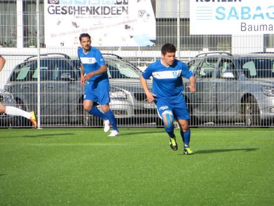 Rechts der Ante Palesko, das war noch in der 2. Liga FC Frenkendorf