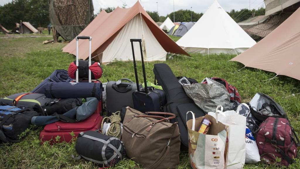 Im Zeltlager, das eigentlich überfallen werden sollten, waren rund 200 Kinder und Jugendliche untergebracht. (Symbolbild)