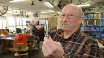 Rainer Egger baut Blechblasinstrumente