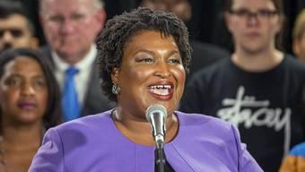 Wollte die erste schwarze Gouverneurin des US-Südstaats Georgia werden: Stacey Abrams.