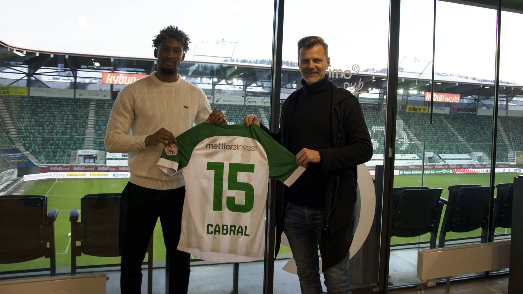Vom Grasshopper Club Zürich stösst Euclides Cabral zum FCSG.