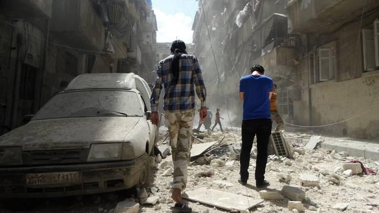 Aleppo: Syrische Apokalypse.