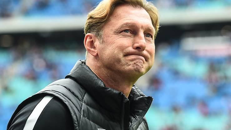 Ralph Hassenhüttl war zwei Jahre lang erfolgreich in Leipzig tätig