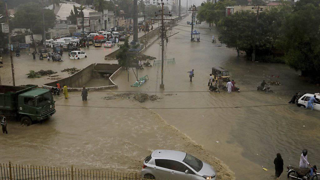 13 Tote nach schweren Regenfällen in Pakistan
