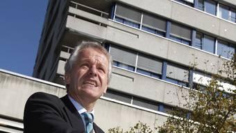 SRO-Direktor Andreas Kohli macht mit seinem Spital einen riesigen Wandel durch, der auch Lichtblicke mit sich bringt, wie etwa der Spatenstich zum grossen Spitalumbau im letzten September.