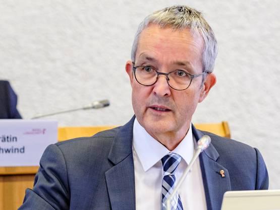 Thomas Weber, Gesundheitsdirektor Baselland