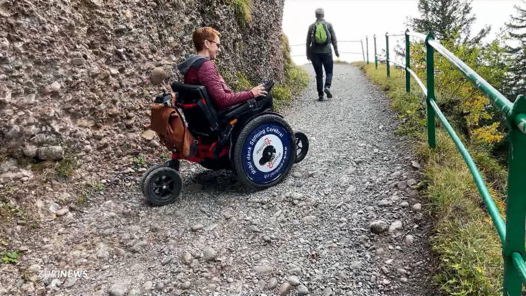Dank Offroad-Rollstuhl auf die Rigi