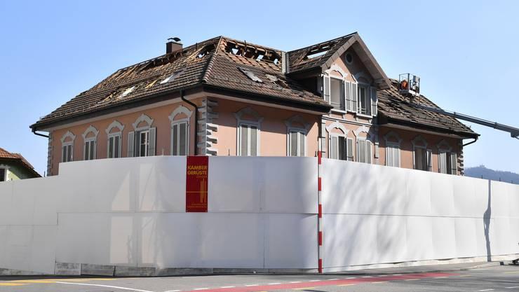 Das Haus an der Baslerstrasse 42 in Trimbach muss einem Neubau weichen.