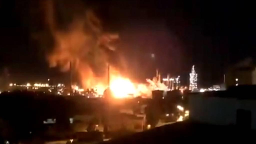 Zwei Tote bei Explosion in spanischer Chemiefabrik