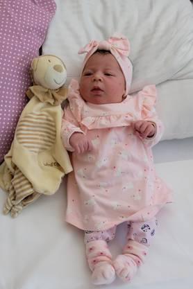 Am Freitag, 19. Oktober 2018, um 14.50 ist Jiyan Sinik als erstes Baby im Neubau des Limmattalspitals zur Welt gekommen.