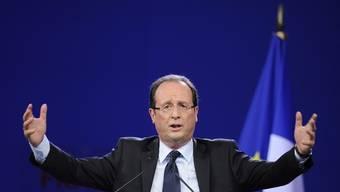 Der Sozialist François Hollande liegt laut Wählerumfragen vor Nicolas Sarkozy