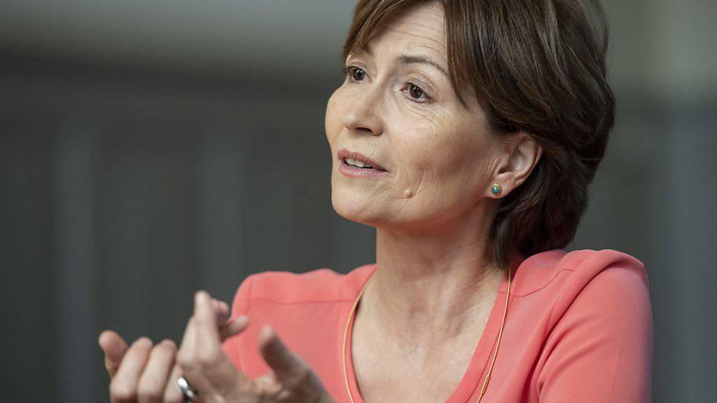 «Fliegen ist eine der grössten Klimasünden»: Grünen-Präsidentin Regula Rytz. (Archivbild)