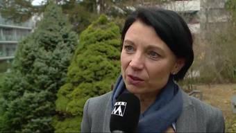 Yvonne Feri: «Jetzt bin ich gespannt, ob die SVP mit Frau Roth die schwierigen Dossiers in den Griff bekommen wird.»