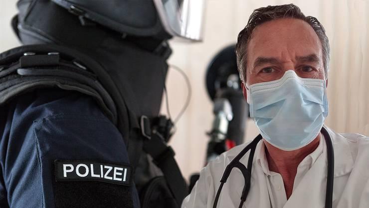 Polizei Arzt