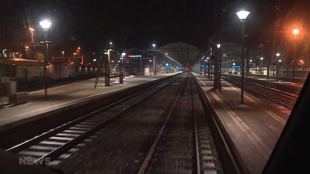 Erster selbstfahrender SBB-Zug