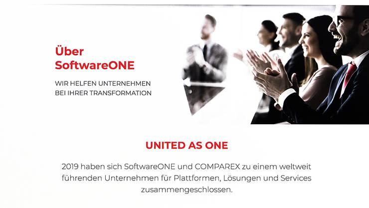 Das Schweizer Unternehmen Softwareone will im vierten Quartal an die Börse gehen.