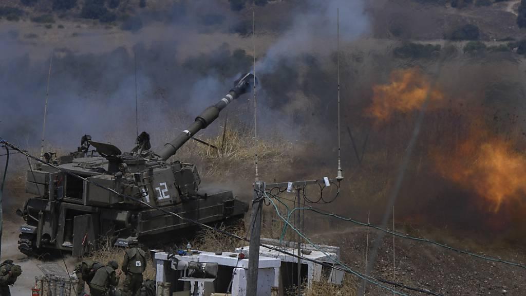 Hisbollah beschiesst israelisches Gebiet mit mehreren Raketen