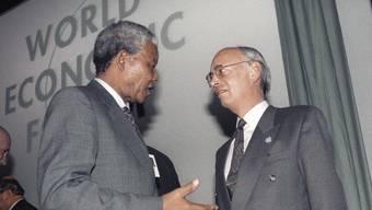 Nelson Mandela und die Schweiz