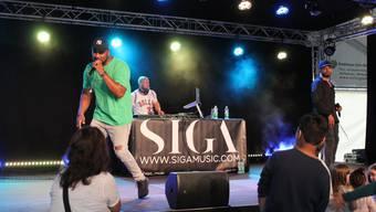 In Dietikon ist Rapper Siga (links im Bild) erst kürzlich beim Sommerfest aufgetreten.