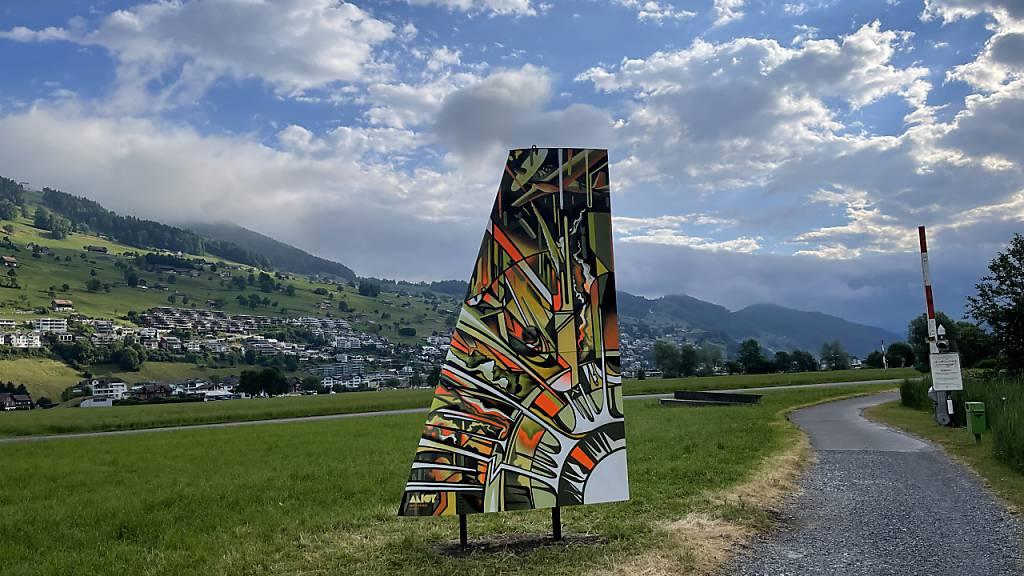 Skulpturenpark Ennetbürgen erhält Zuwachs