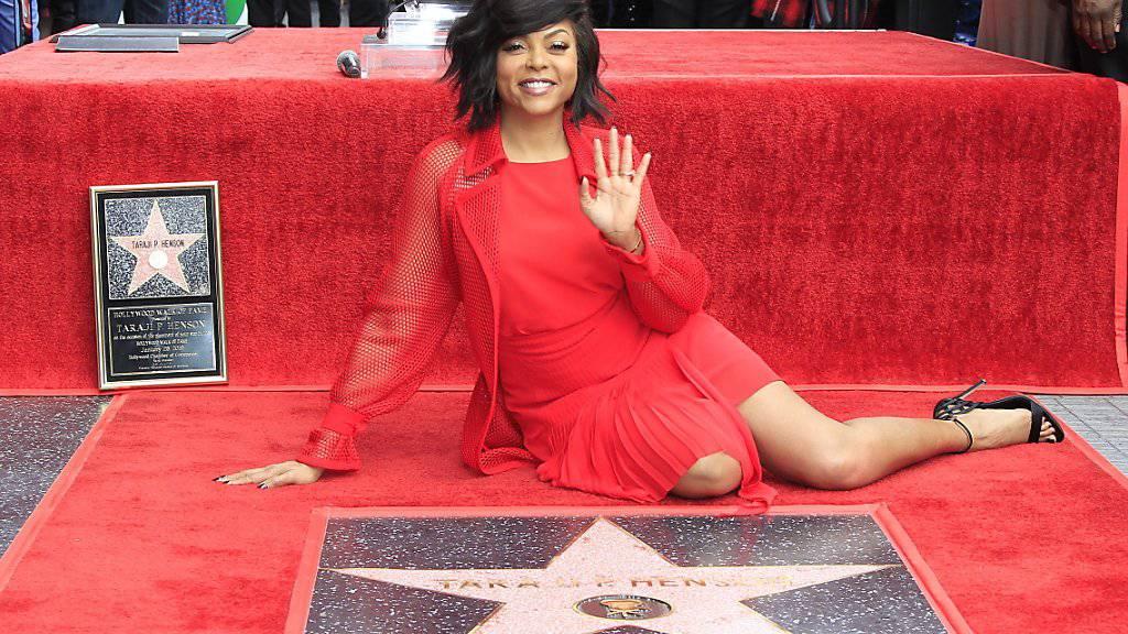"""Erhielt einen eigenen Stern auf dem """"Walk of Fame"""" in Hollywood: Schauspielerin Taraji P. Henson."""