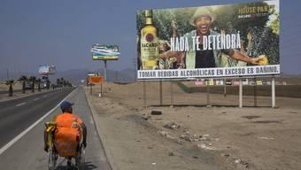 Schilder der Ungleichheit in Peru
