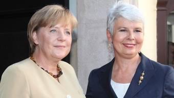 Angela Merkel (links) und Jadranka Kosor in Zagreb