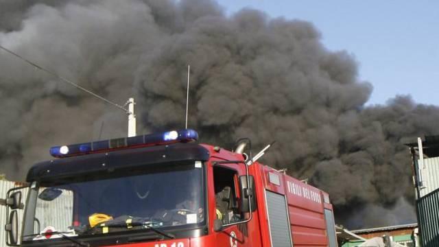 Brandbekämpfung in Rom (Symbolbild)
