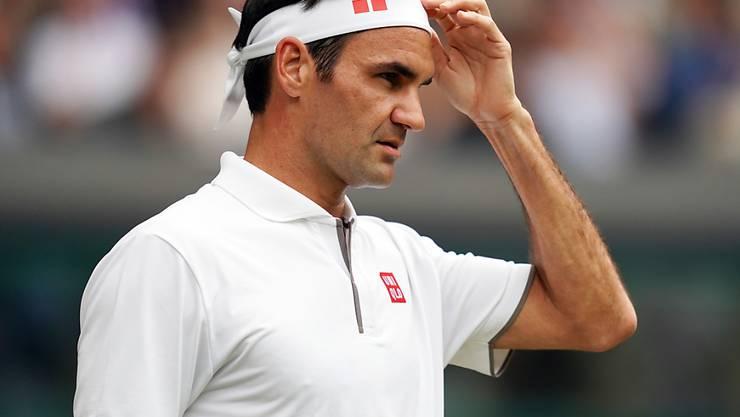 Roger Federer gewann gegen Lucas Pouille sein 350. Einzel an einem Grand-Slam-Turnier